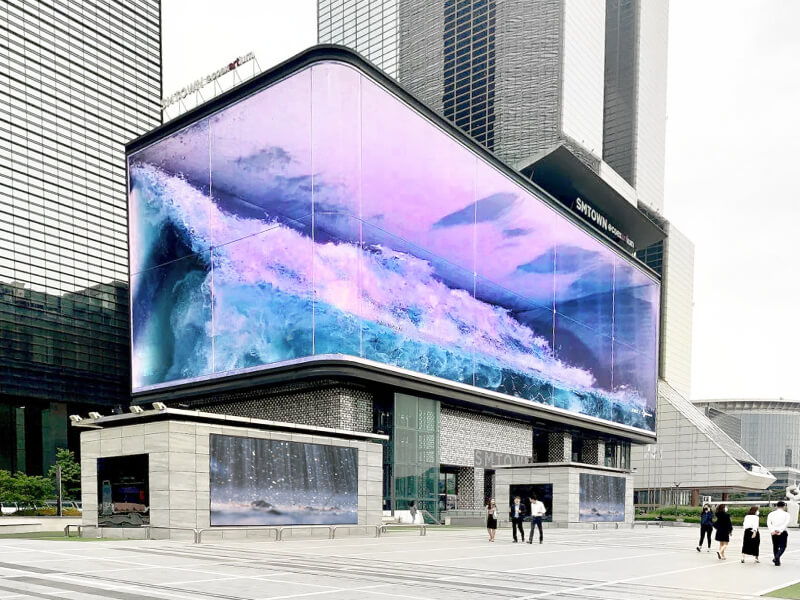 Наружные LED-экраны